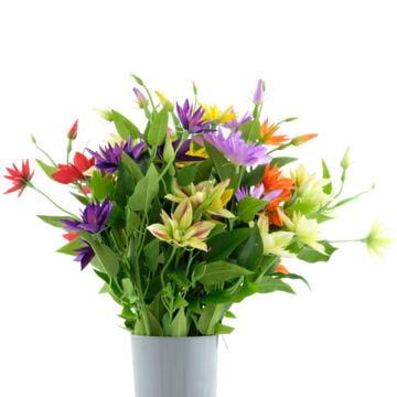 Sztuczne kwiaty pojedyncze